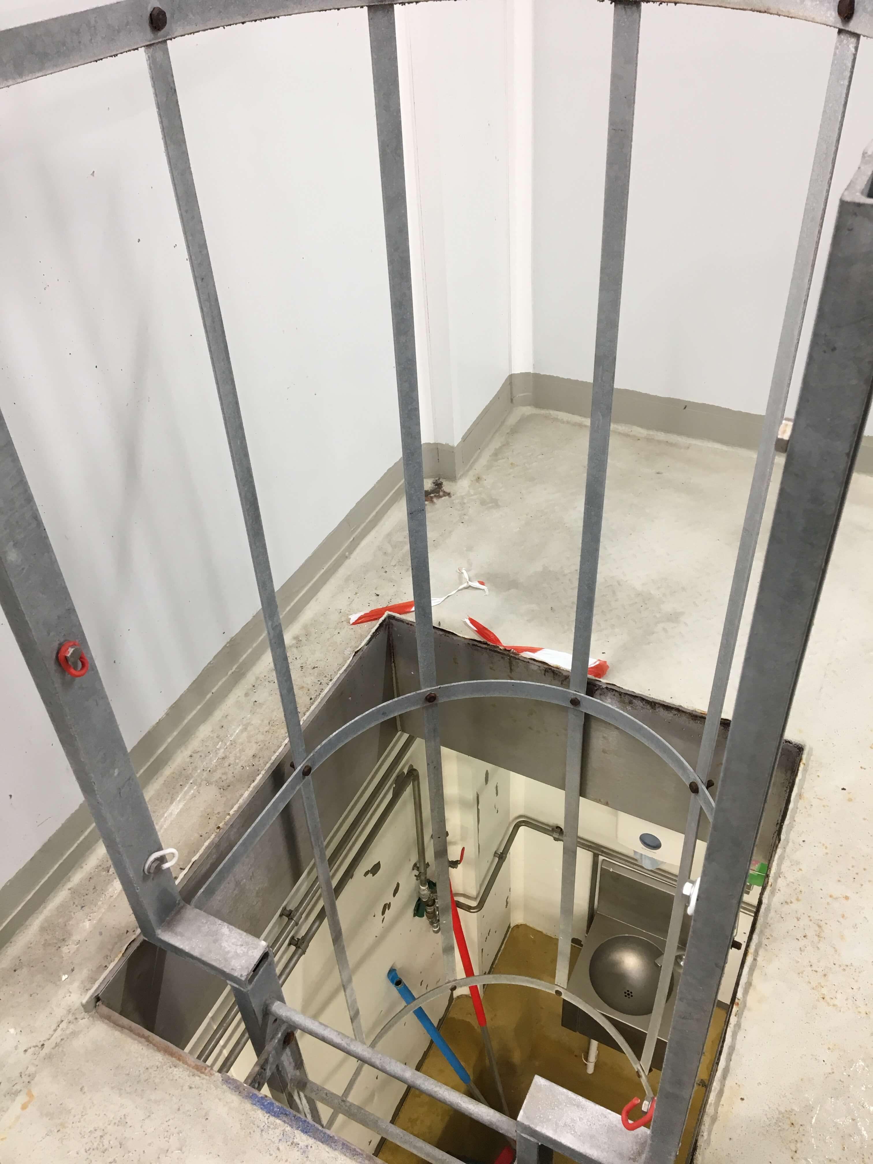 Réalisation échelle crinoline sur mesure INOX ALUMINIUM ACIER Cholet
