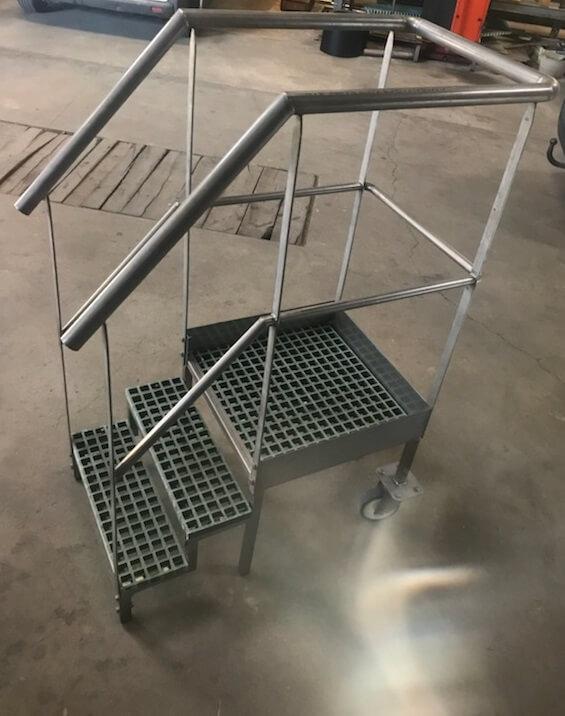 Soudure marche pied, structure métallique INOX ALUMINIUM ACIER Cholet 49