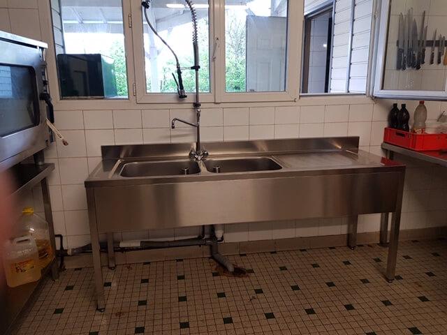 Vente et installation de cuisine industrielle INOX Cholet 49