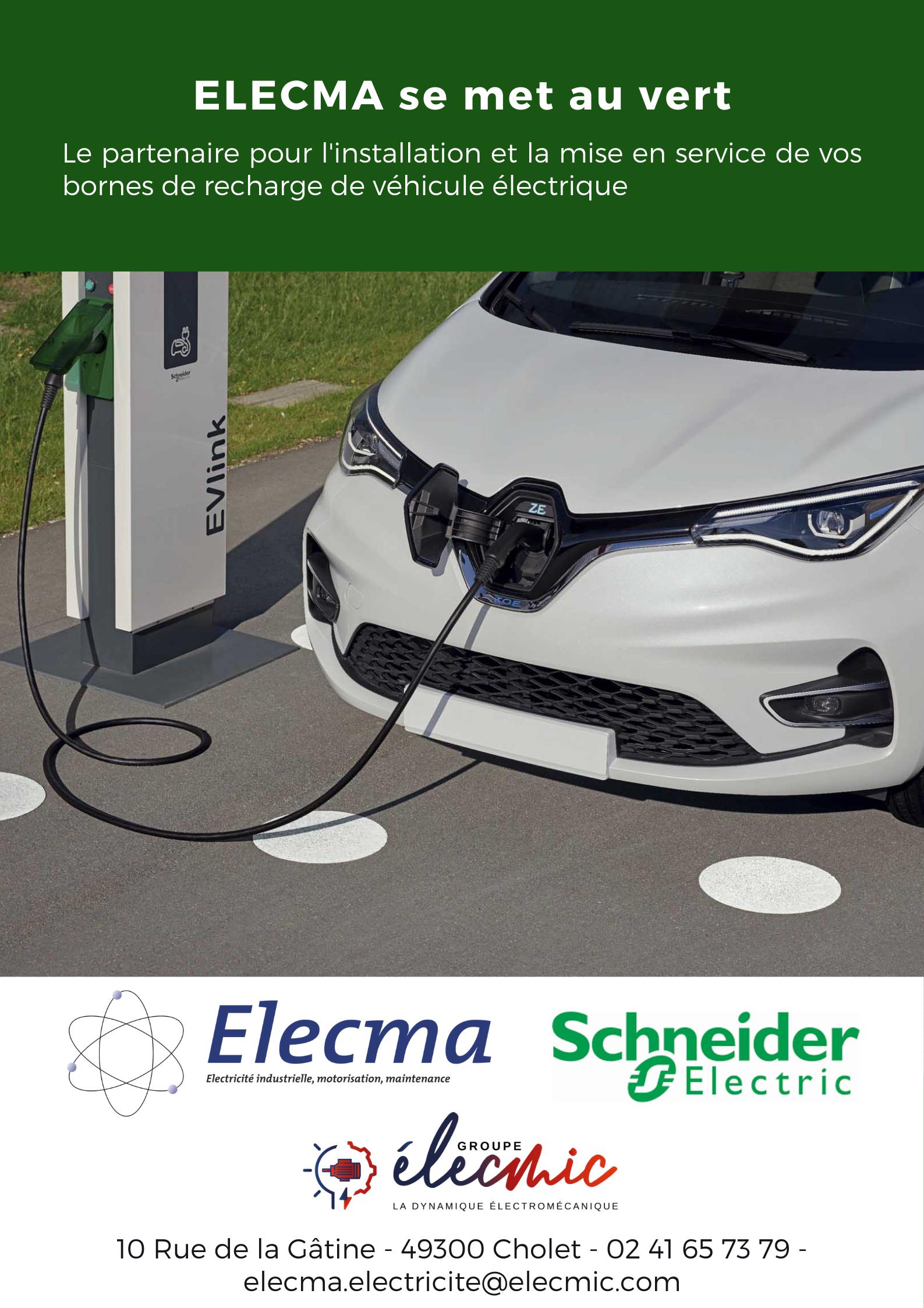 ELECMA - borne de recharge véhicule électrique